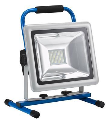 verlichting super led lamp 50w met batterij voet